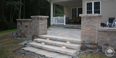 Lawn Patio by Lashomb Lawn Landscape Patio Steps Lighting Walls
