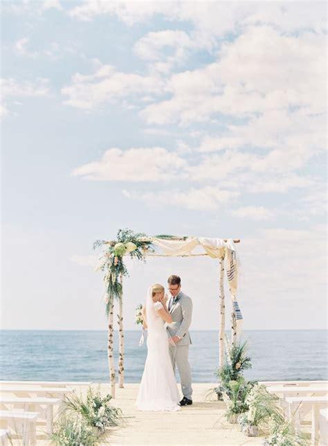 unplugged nautical lake michigan wedding lake michigan