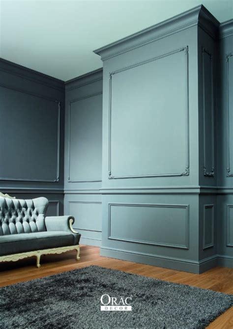 chambre a coucher inspirations moulures murales décoratives habitatpresto