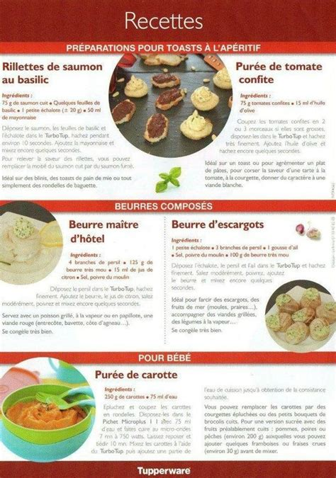 fiches cuisine 56 best images about recette tupperware on
