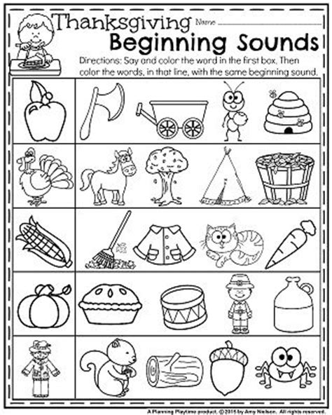 thanksgiving language arts worksheets worksheets for all