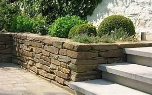 Mur De Soutenement En Gabion : murs de sout nements et gabions par henrion jardins ~ Melissatoandfro.com Idées de Décoration