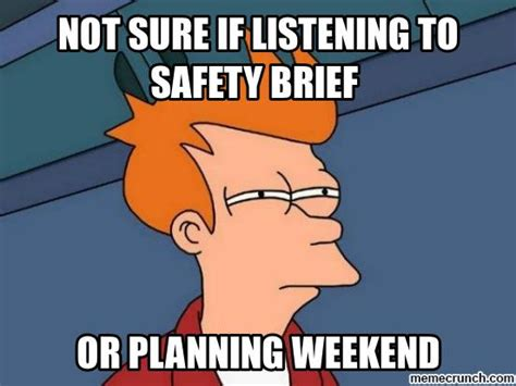Safety Meme - army safety brief meme