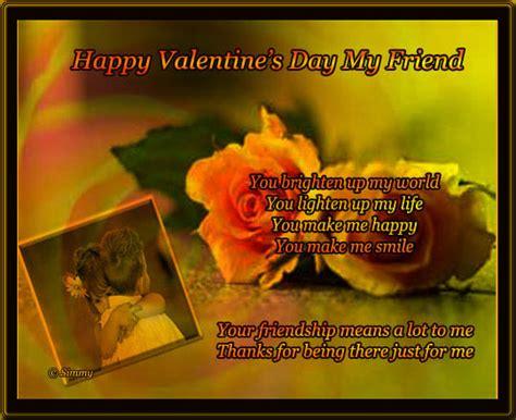 Happy Valentine's Day Dear Friend. Free Friends eCards ...