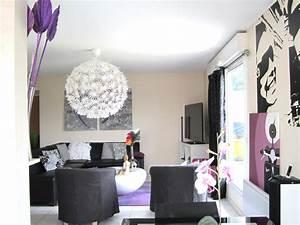 Idée Rideau Salon : idee rideau salon noir blanc ~ Preciouscoupons.com Idées de Décoration