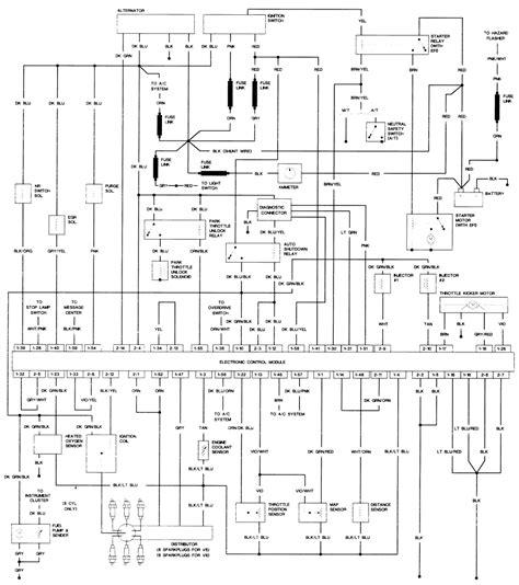 1979 Dodge Truck Wiring Diagram by 1989 Dodge Ram Truck D100 1 2 Ton P U 2wd 5 2l Fi 8cyl