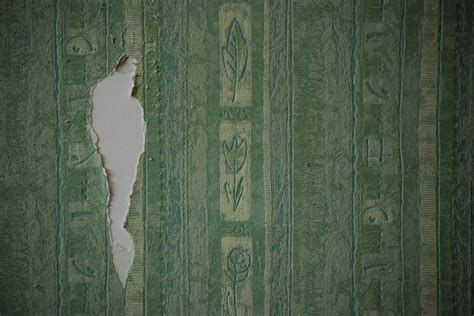 togliere la tappezzeria togliere carta da parati e tinteggiare di nuovo le pareti