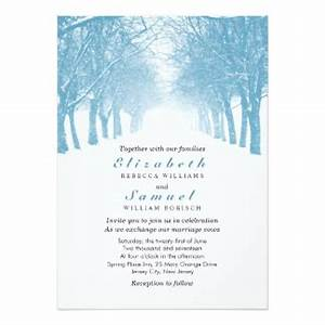 Winter wedding invitations announcements zazzlecomau for Lavender avenue wedding invitations
