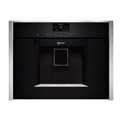 bandeau inox pour cuisine machine à café encastrable inox neff réf c17ks61n0