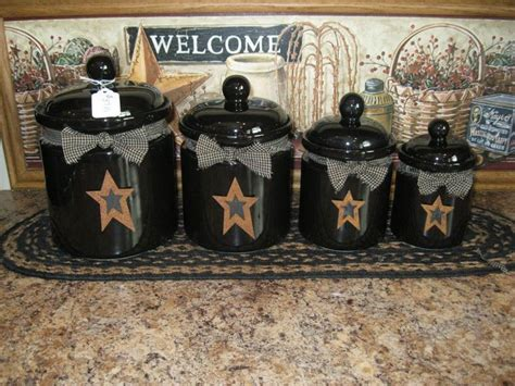 Primitive Easter Decor Canister Set by 25 Best Ideas About Primitive Canisters On