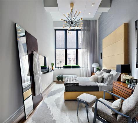chambre avec grande hauteur sous plafond picslovin