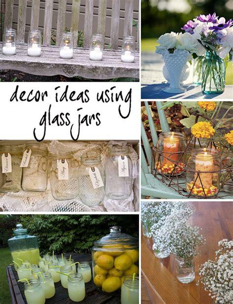 jar decor ideas e t s wedding mason jar and tin can ideas