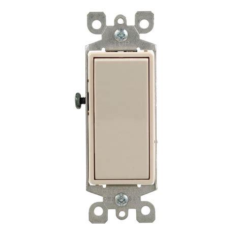 Leviton Decora Amp Way Switch Light Almond
