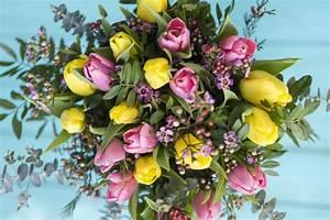 Beau Bouquet De Fleur : vue de dessus de beau bouquet de fleurs color es ~ Dallasstarsshop.com Idées de Décoration