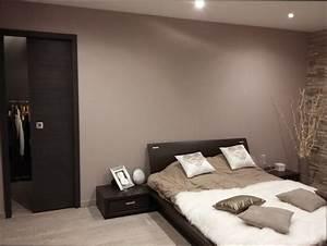 Chambre Deco : deco chambre marron et rose
