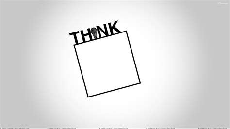 Think And White Background Wallpaper