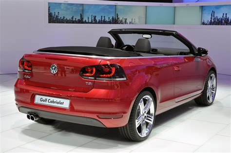 2018 Volkswagen Golf Cabriolet Geneva 2018 Photo Gallery