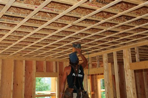 strapping ceilings jlc  framing ceilings carpentry living room molding millwork