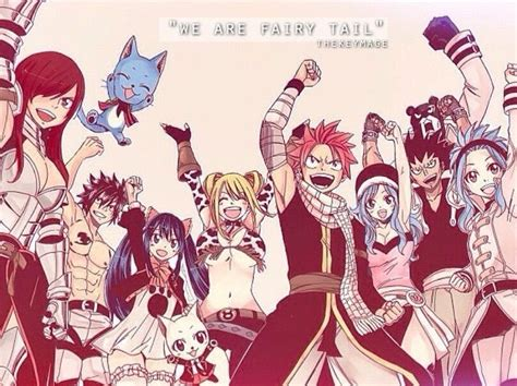 Fairy Tail All Main Characters  Wwwimgkidcom The