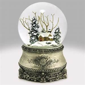 Home for Christmas Snow Globe: Global Shakeup / snowdomes com