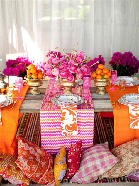 Picture Of Boho Chic Wedding Table Settings To Get Inspired 13