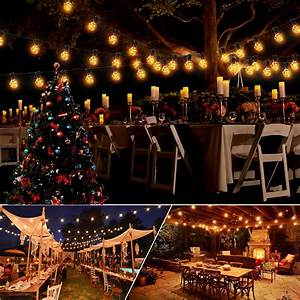 LED Lichterkette Lichternetz außen innen Leuchte Weihnachtsbaum Dekor Party MK