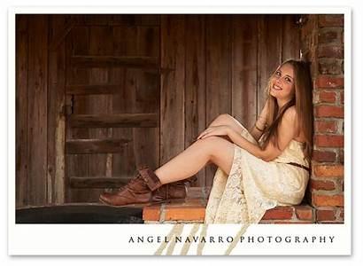 Senior Pretty Rural Fun Portrait Last Location