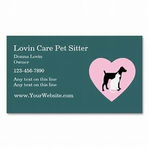 Pet sitter business cards business cards pet sitter for Dog sitting business cards
