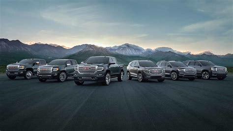 Trucks, Suvs, Crossovers, & Vans  2018 Gmc Lineup