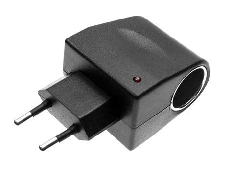 zigarettenanzünder adapter steckdose adapter ac dc zigarettenanz 252 nder steckdose kfz netzteil ebay