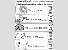Reception Worksheets Pictures – Learning Printable