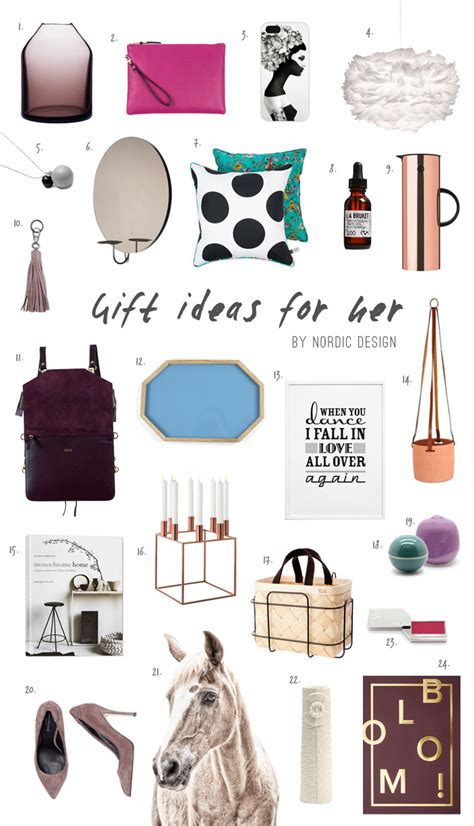 ideas for christmas gifts for her gift ideas for nordicdesign