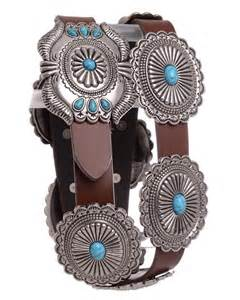 Turquoise Concho Belts for Women