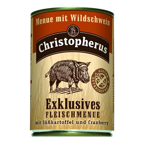 christopherus exclusives fleischmenue wildschwein