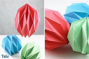 Origami Lampe Kaufen : origami lampe falten lampenschirm aus papier basteln ~ Markanthonyermac.com Haus und Dekorationen