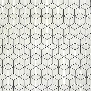 Grafische Muster Schwarz Weiß : dekostoff geometrisches muster cremewei schwarz 138cm stoffe wohnstoffe dekostoffe ~ Bigdaddyawards.com Haus und Dekorationen