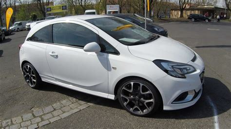 opel corsa opc 2017 opel corsa e opc recaro seats arctic white colour walkaround interior model 2017