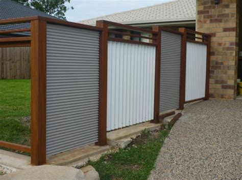 corrugated metal fence 25 best ideas about metal fence panels on pinterest metal fence metal fence gates and steel