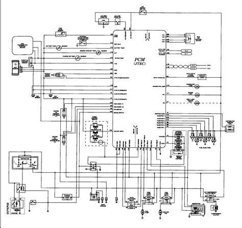 1996 Jeep Wiring by 1996 Jeep Grand Limited Temps Coil Injector