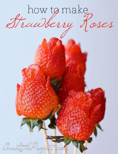 strawberry ideas how to make a strawberry rose ideas for valentines day ideas for mothers day and rose bouquet