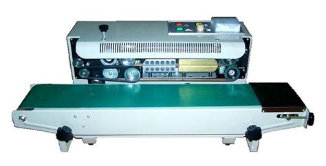 continuous automatic plastic bag sealing machine band film sealersealing width mmsteel