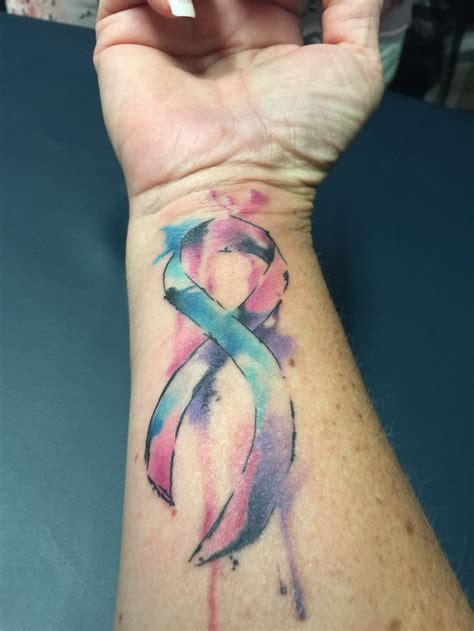 color for thyroid cancer watercolor thyroid cancer tat for all of us