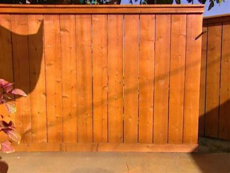 How To Build Backyard Fence by How To Building A Cedar Fence Hgtv