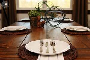 Décor your dinner table for a memorable dinner