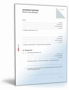 Mietvertrag Wg Zimmer Kostenlos : untermietvertrag zimmer vorlage zum download ~ Lizthompson.info Haus und Dekorationen