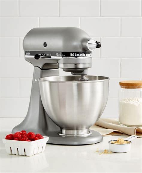 mixer stand kitchenaid classic plus qt head tilt mixers friday macy silver kitchen walmart deals deal quart food monday cyber