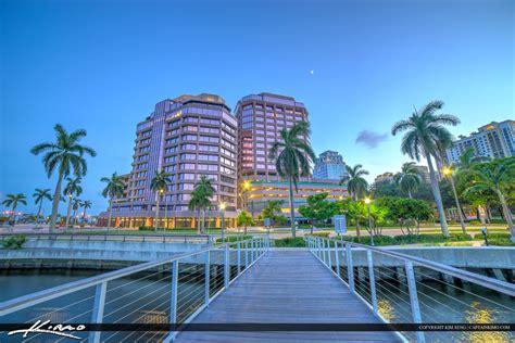 Aurora Lights by West Palm Beach Skyline Phillips Point Building Real Estate