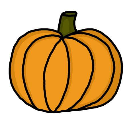Pumpkins Clipart How To Draw A Pumpkin Step By Clipart Panda Free