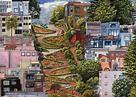 wallpaper lombard street, san francisco, california HD ...
