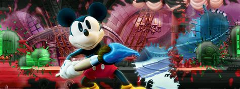 Disney Epic Mickey Power Of Illusion Review Ign